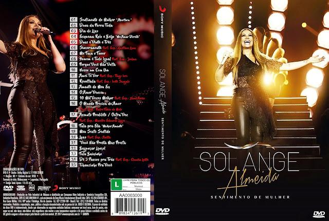Capa DVD Solange Almeida: Sentimento de Mulher [Custom]