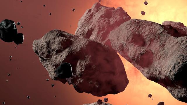 Cinco asteroides se acercan a la Tierra por segunda semana sucesiva