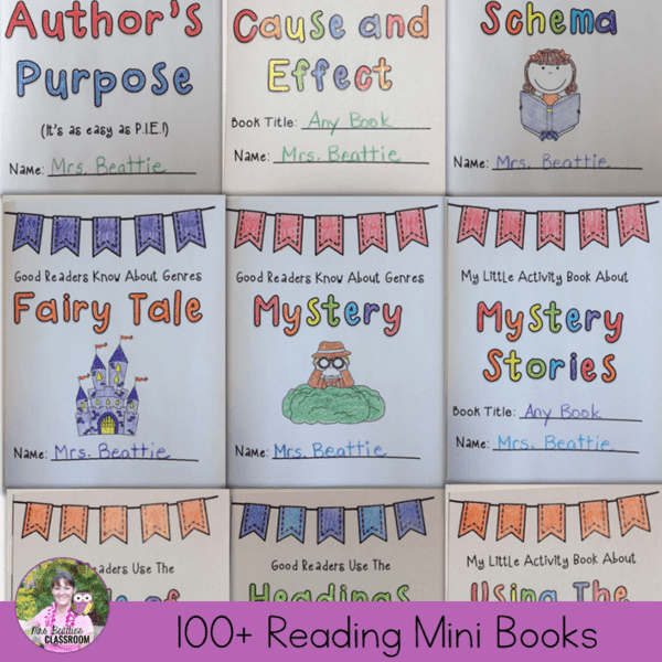 Comprehension Strategies Mini Books