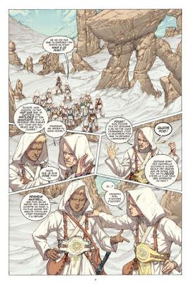 Comics - White Sand: un découpage dynamique