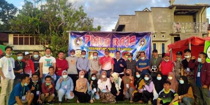 Pj Sekda Asraf Buka Turnamen Sepakbola di Tiga Desa Seleman