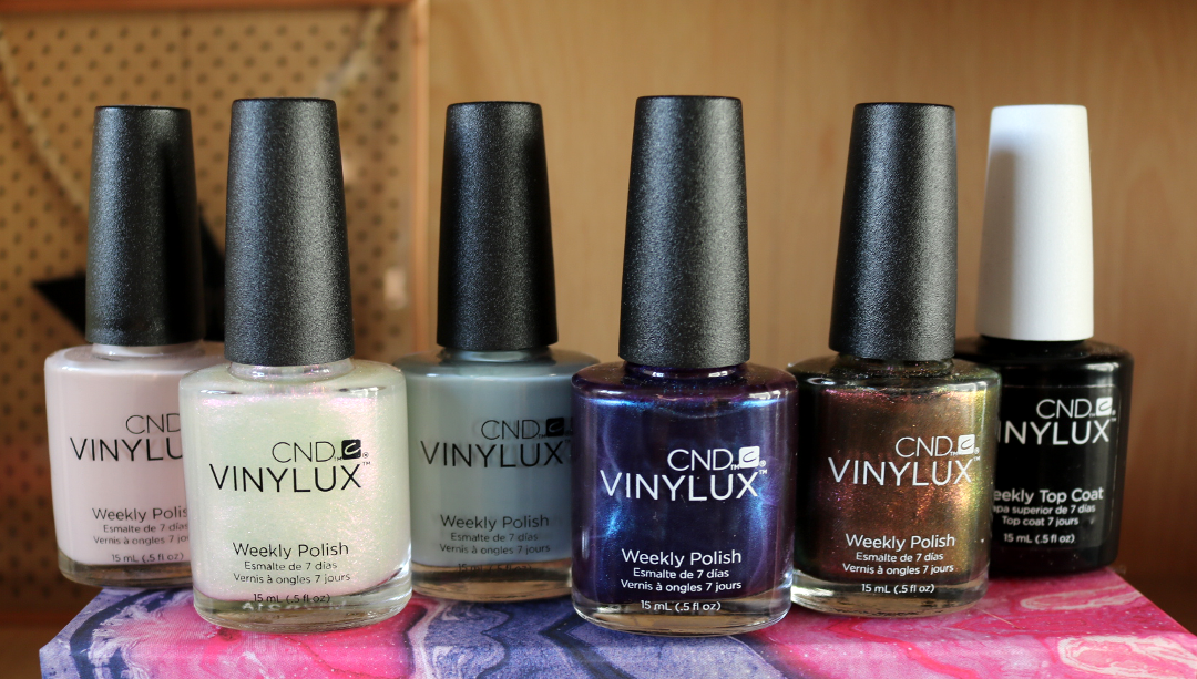 CND Vinylux Nightspell & Glacial Illusion Collections - Review & Swatches