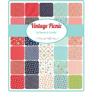Moda Vintage Picnic Fabric by Bonnie & Camille for Moda Fabrics