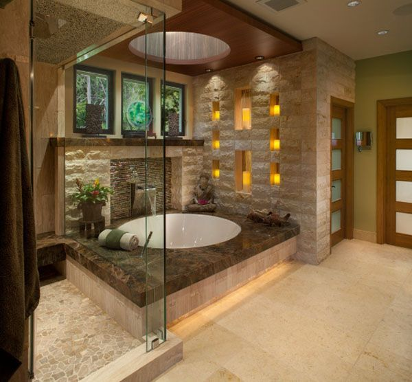 Luxury bathroom master baths modern