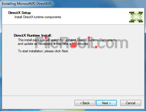 FileRabit com: Download DirectX 9c, 10, 11, 12