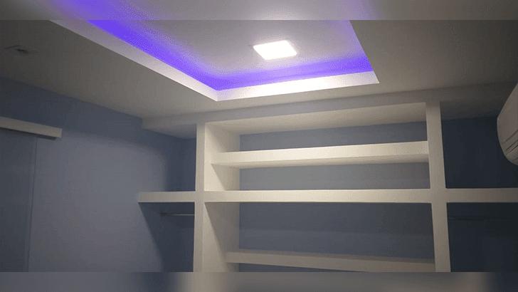 Parede de Drywall Finalizada