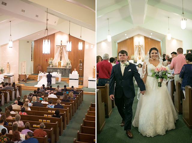Bay City Texas Catholic Church Wedding, Houston Wedding Photographer, Texas Weddings