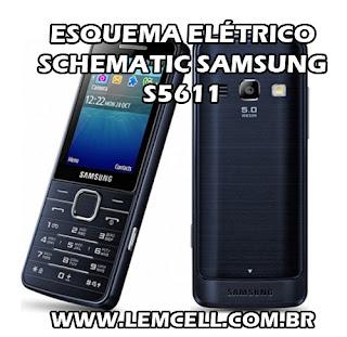 Esquema Elétrico Smartphone Celular Samsung S5611 Manual de Serviço Service Manual schematic Diagram Cell Phone Smartphone Samsung S5611 Esquema Eléctrico Smartphone Celular Samsung S5611 Manual de servicio