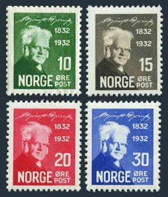 Norway Bjornson,novelist,poet,dramatist