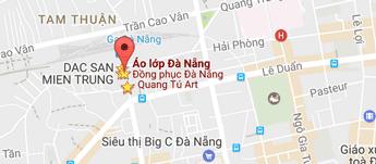 Bản đồ đến Tú Art - Đồng phục đẹp Đà Nẵng