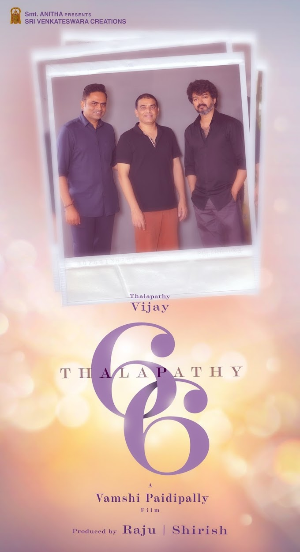 Thalapathy66: Vijay and Director Vamshi Paidipally's Maiden Collaboration