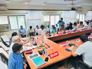 जिला विकास समन्वय एवं निगरानी समिति की बैठक संपन्न  | #NayaSaberaNetwork