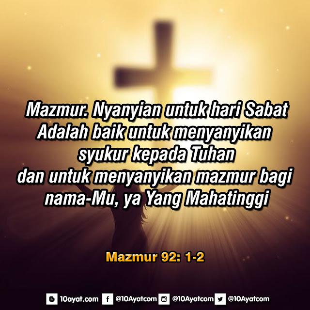 Mazmur 92: 1-2