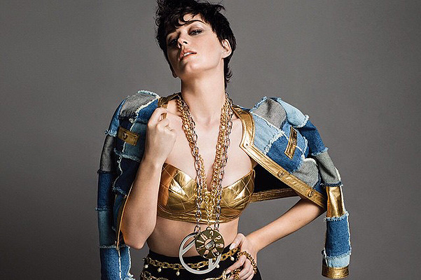 Katy Perry has become the new face of the brand Moschino
