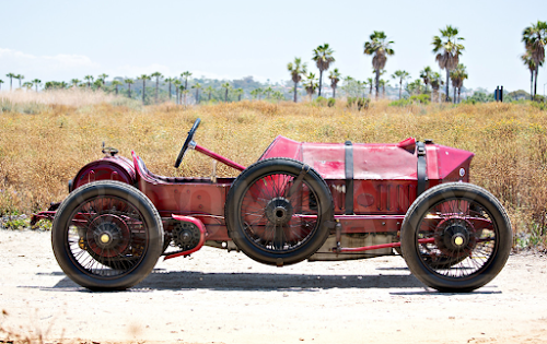 1904 Central Greyhound 8-cylinder racer by H  H  Buffum Co