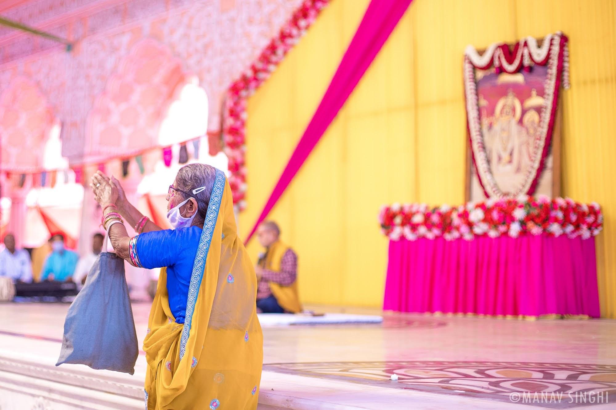 Fagotsav, Govind DevJi Mandir, Jaipur - 2021