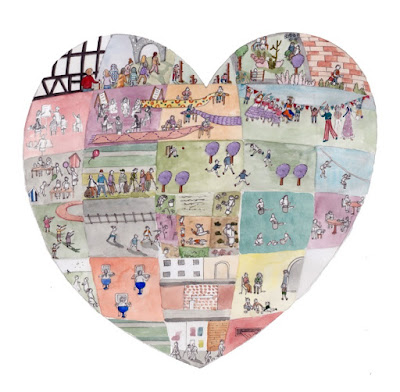 Laura Hallett's design for Darnall's Heart