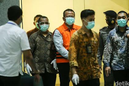 WOW... Rekening Penampung Suap Menteri Edhy Prabowo Mencapai Rp 9,8 M