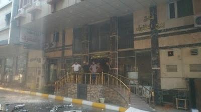 إخلاء 42 نزيلا وإخماد حادث حريق اندلع في أحد فنادق كربلاء