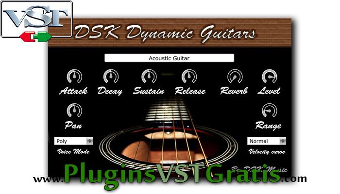 DSK Dynamic Guitars - Plugin VSTi de Violão Grátis