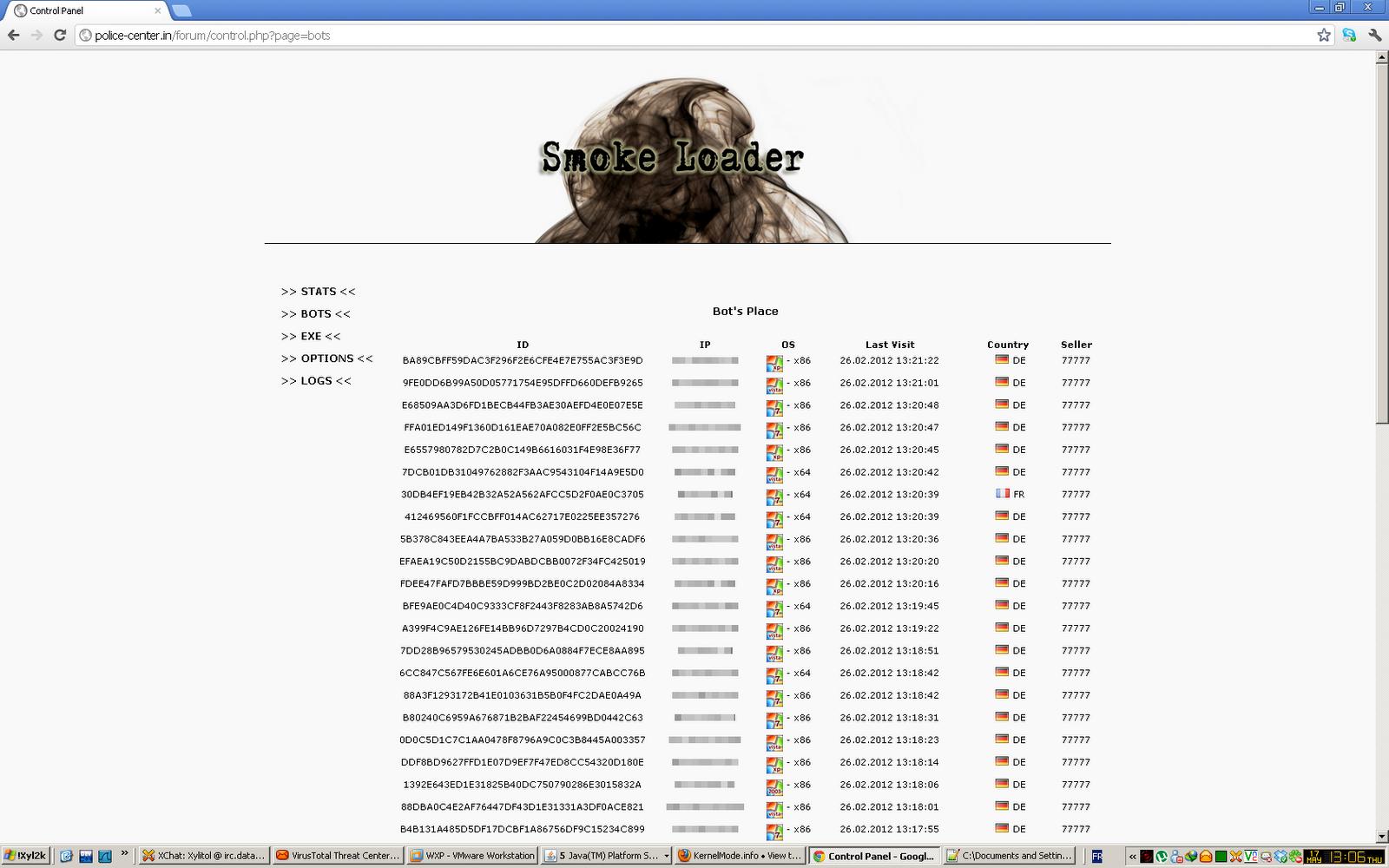 XyliBox: Win32/Weelsof: Smoke Loader, Zeus, Ransomware    juicy business