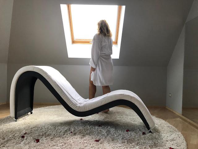 Sofa tántrico - Suite Margarita Bonita - Hotel Andorra