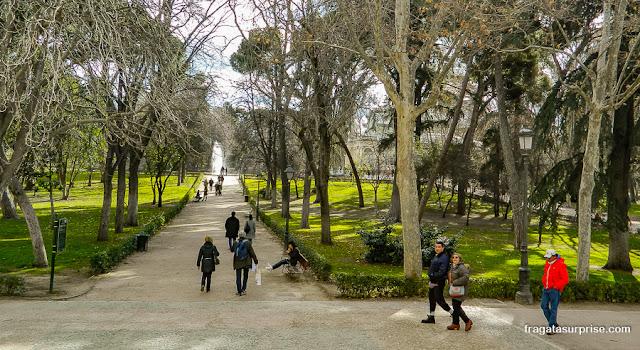 Parque do Retiro, Madri