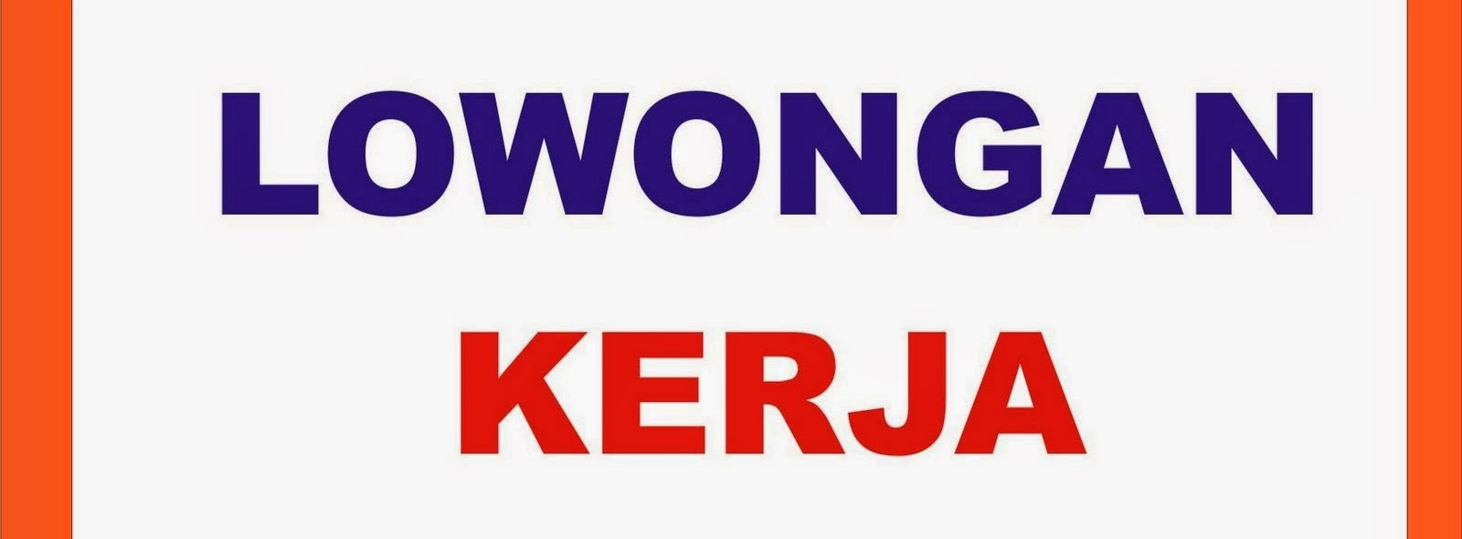 Lowongan Kerja Jakarta Timur  Wisata Dan Info Sumbar