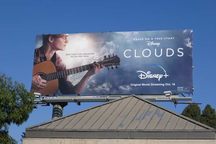 Clouds Disney movie billboard
