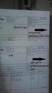fotocopy dari adf bergeser