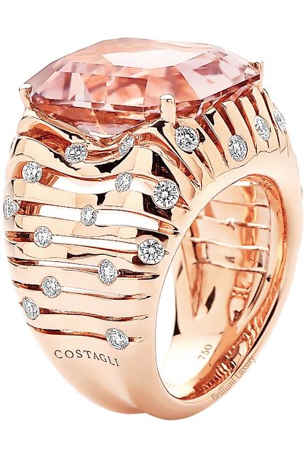 Paolo Costagli tourmaline and diamond cocktail ring #brilliantluxury