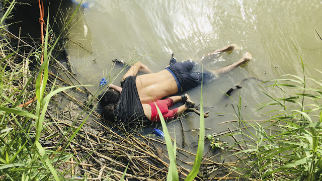 Funcionario estadounidense culpa al migrante salvadoreño de morir ahogado junto a su hija en el Río Bravo