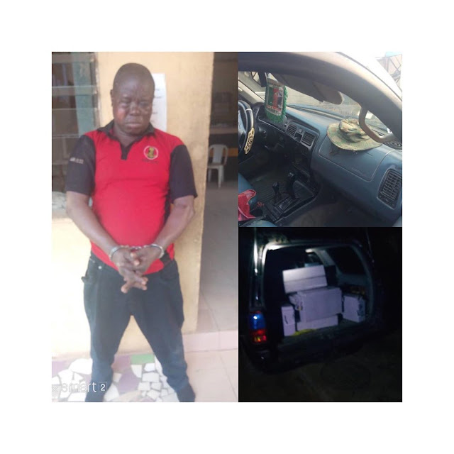"""7 Notorious Robbery gang """"Anglican Knight"""" were caught and Arrested."""