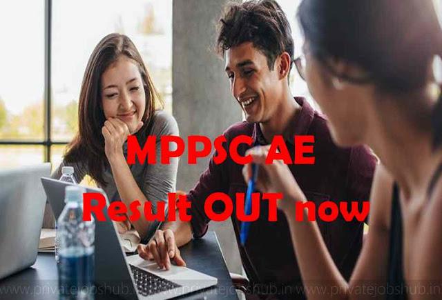 MPPSC AE Result