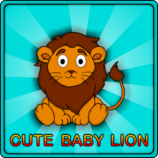 Cute Baby Lion Rescue Wal…