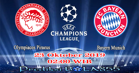 Prediksi Bola855 Olympiacos Piraeus vs Bayern Munich 23 Oktober 2019