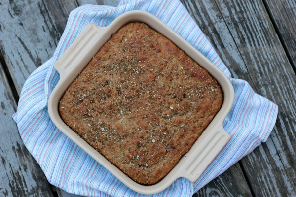 Banana Yogurt Snack Cake