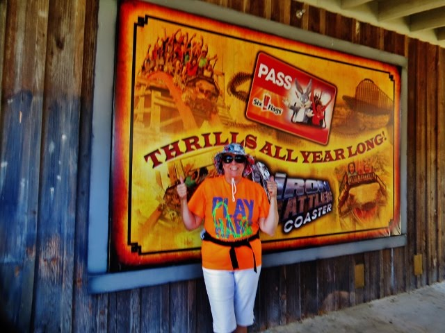 Six Flags Fiesta Texas, San Antonio, Sunday, April 22, 2018