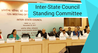Inter-State Council Standing Committee