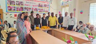 भाजपा सरकार किसानों को कई योजनाओं के अंतर्गत लाभ दे रही है : जिला अध्यक्ष यादव