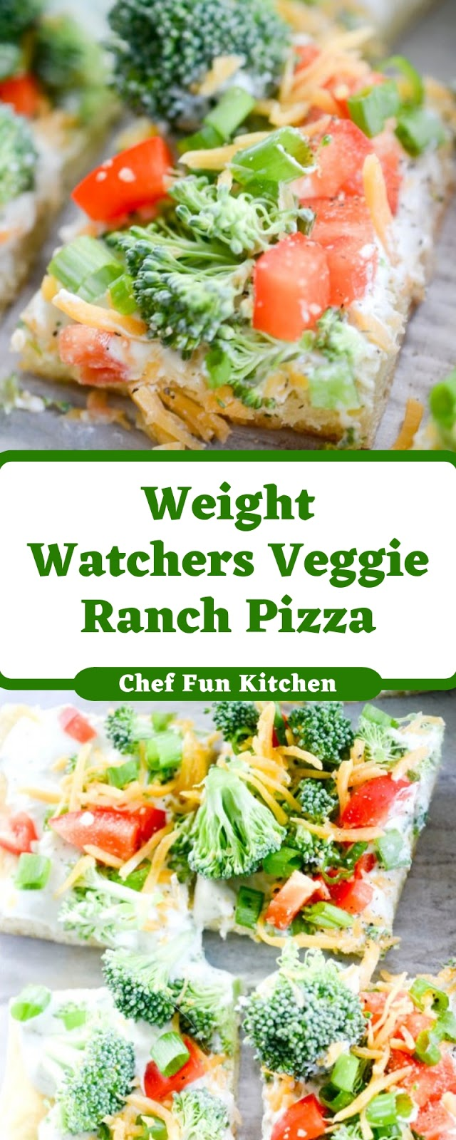 Weight Watchers Veggie Ranch Pizza