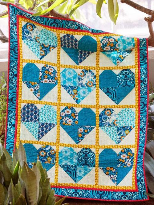 Hello Love Quilt - Free Pattern