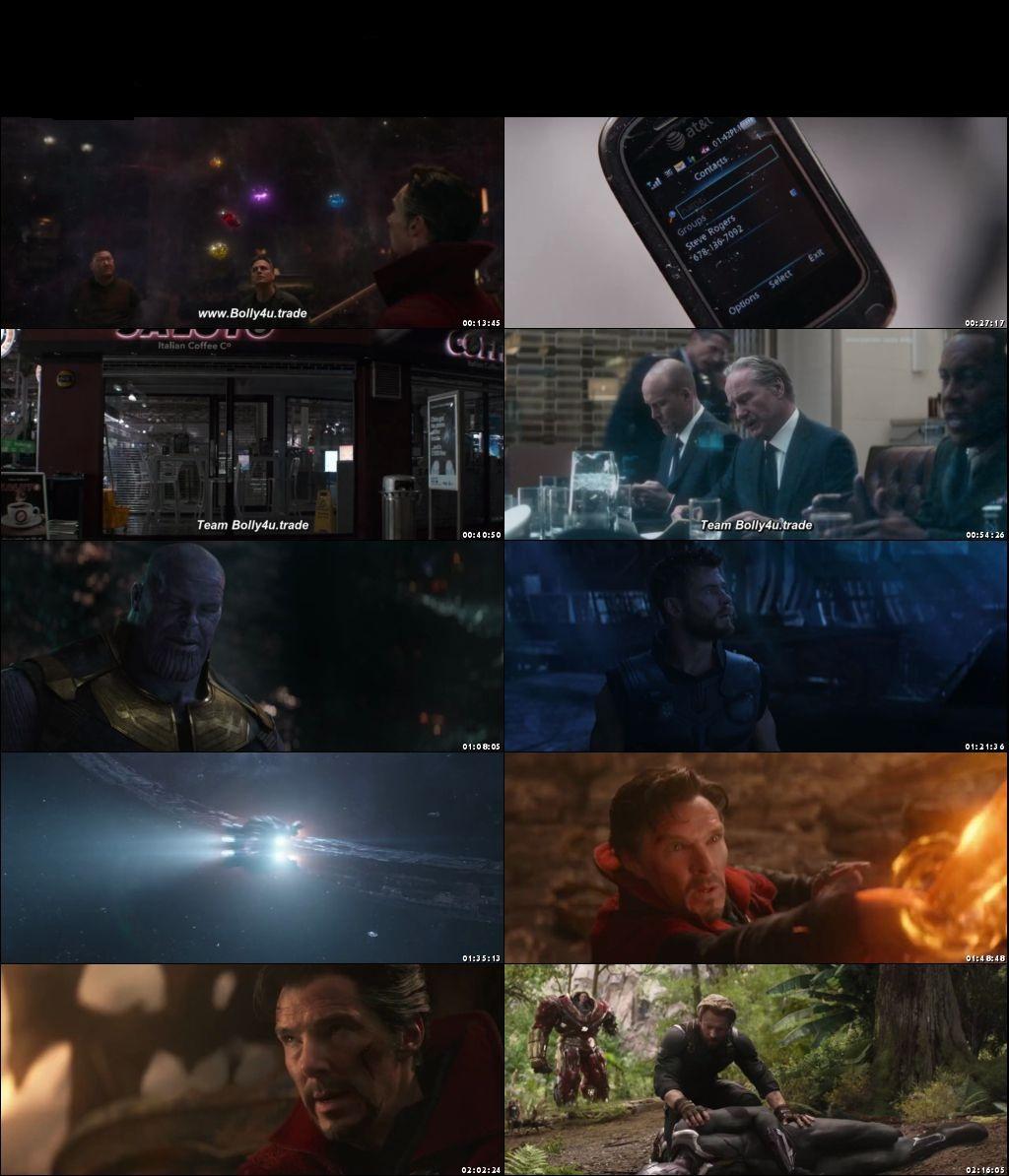 avengers infinity war 720p
