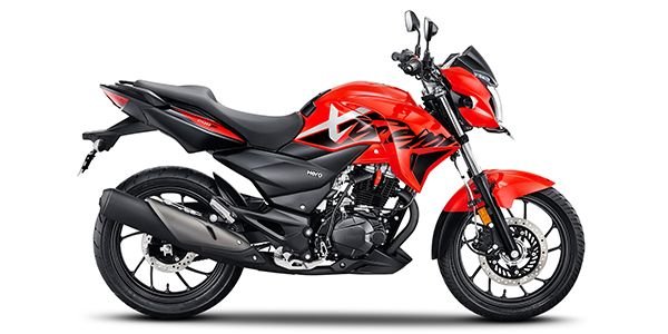 New Hero Xtreme 200R side view