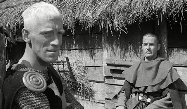 Max von Sydow and Gunnar Björnstrand