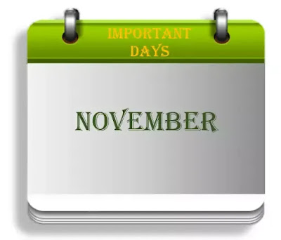 Important Days in November