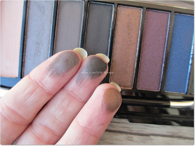 FREEDOM MAKE UP, 10 Eyeshadow Palette - Swatches