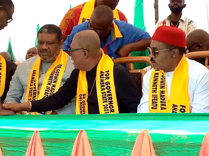 Maduka's Guber Bid Gets Massive Boast, As Ex Anambra PDP Chair Collapses All Political Structures ( Photos/Video)