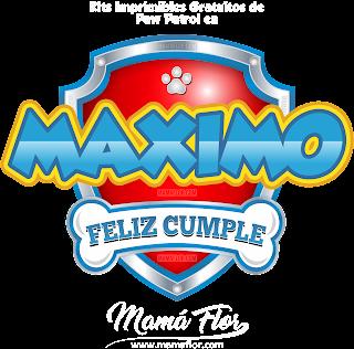 Logo de Paw Patrol: MÁXIMO