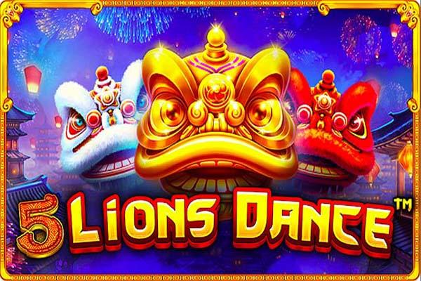 Main Gratis Slot 5 Lions Dance (Pragmatic Play)